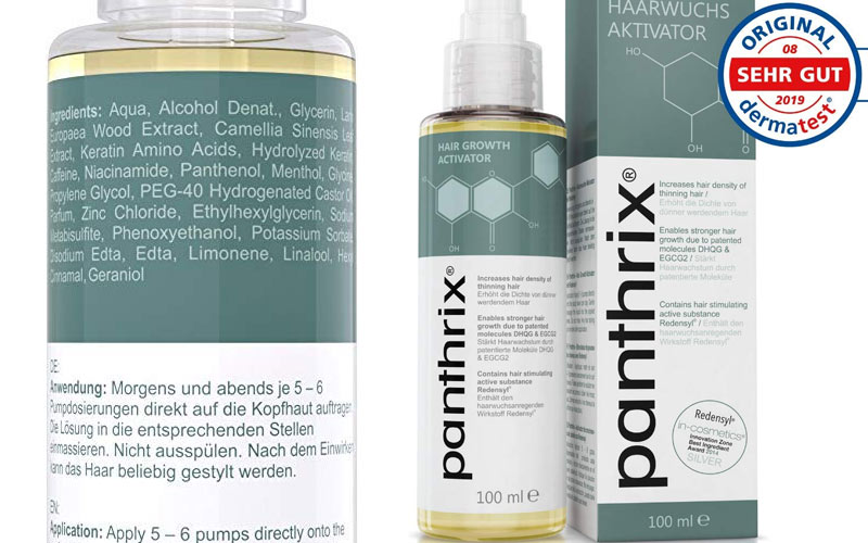 Panthrix full ingredients list